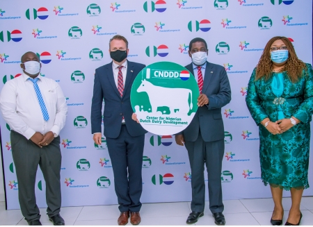 FG, Governors, Others Commend FrieslandCampina on Nigerian-Dutch dairy centre  -
