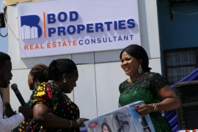 INDEPENDENCE DAY: BOD PROPERTIES ROLLS OUT GIFTS IN GRAND STYLE TO REWARD ITS CUSTOMERS AND STAFF (PHOTOS)