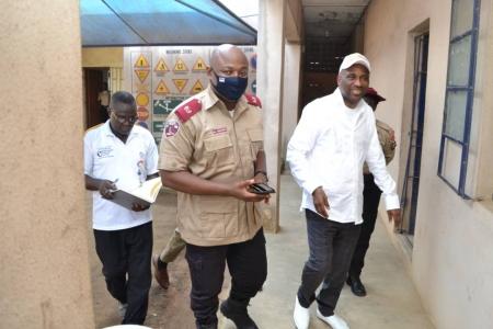 Primate Ayodele Prays For Police, FRSC Officers In Philanthropic Visit