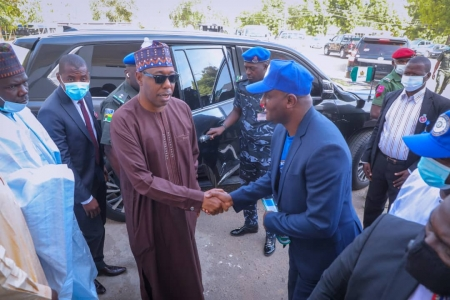 Zulum unvails new corperate identity for Borno's internal revenue service