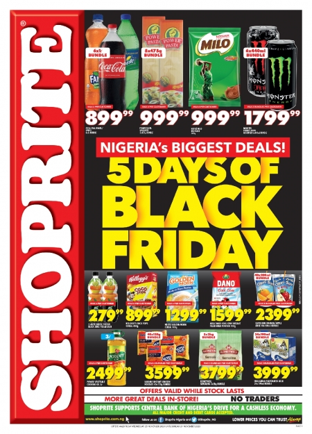 Shoprite surprises customers on a bumper Black Friday