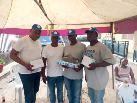 winners at Oshola Easter Ludo Competition