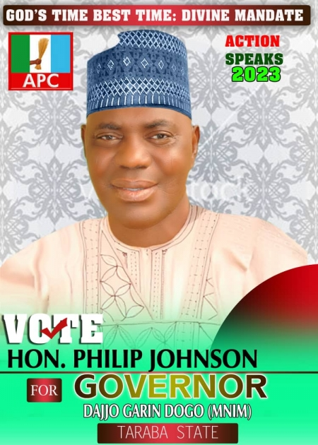 Taraba State Governorship Hopeful, Philip Johnson Felicitates With Moslem Faithfuls....Calls For Unity In Tackling Insecurity.